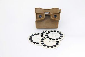 Viewmaster with reels