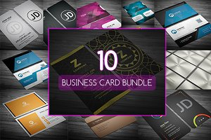 10 Business Cards Bundle