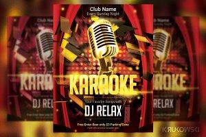 Karaoke Club Flyer