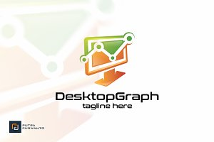 Desktop Graph - Logo Template