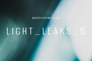 Light_Leaks_5 (Monochrome Blue)