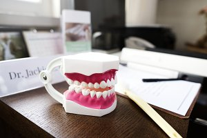 Dentist's desk
