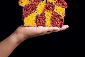 Сarrot and beetroot bread