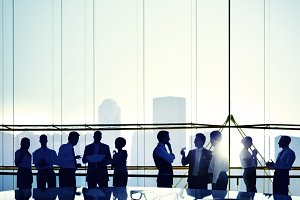 Business People Meeting (PNG)