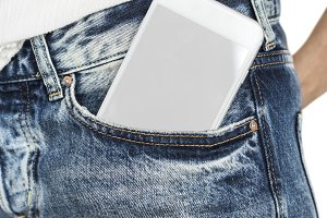Mobile Phone Pocket(PNG)