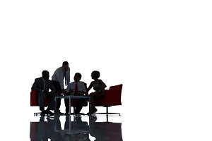 Business People Meeting(PNG)