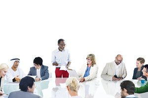Business Team Meeting (PNG)
