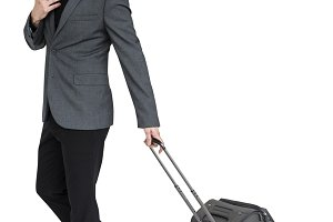 Businessman Passenger Traveling