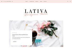 LATIVA - Feminine Blog & Shop Theme
