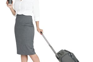Businesswoman Passenger (PNG)
