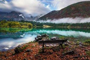 Autumn mood in nature