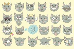 Vector cats.