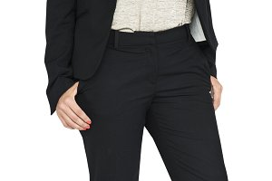 Businesswoman Smiling (PNG)