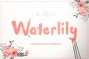 Waterlily Typeface