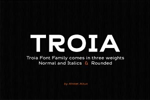 Troia Font Family-80%off