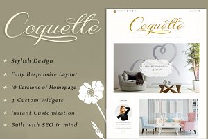 Coquette - Stylish Blogging Theme