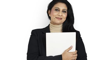 Indian Asian Woman Business(PNG)