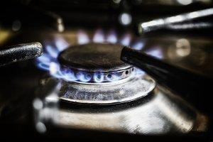 Burning gas ring