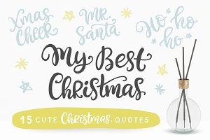 15 Cute Christmas Photo Overlays