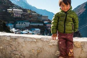 Sherpa child