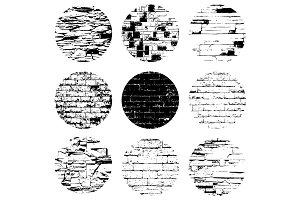 Circular Brick Textures