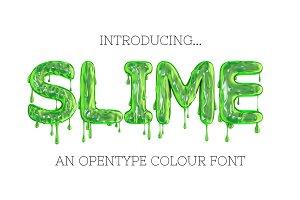SLIME - OTF font & pngs