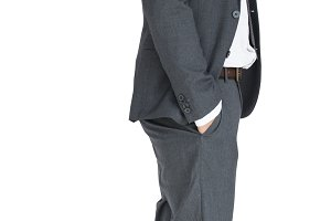 Business Man Talking Phone (PNG)
