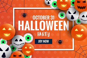 Halloween Banners Design