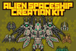Alien Spaceship Creation Kit