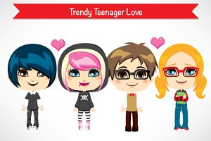 Trendy Teenager Love