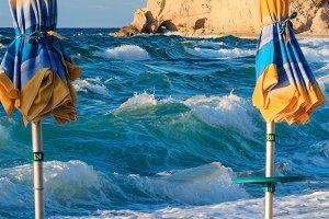 Tropea beach view, Calabria, Italy