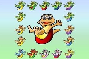Gecko Mascot