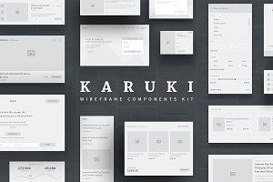 Karuki Wireframe Kit