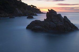 Seascape in mediterranean