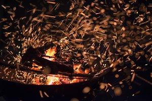 fire backgraund