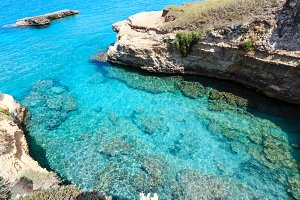 Adriatic sea coast, Italy
