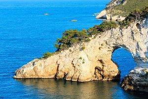 Adriatic sea coast, Italy