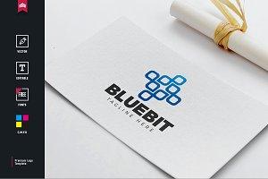 Blue Bit Logo