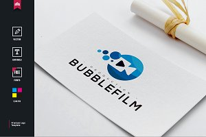 Bubble Film Logo