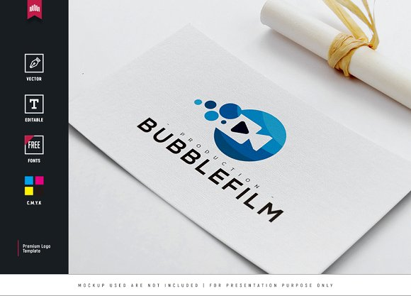 Bubble Film Logo