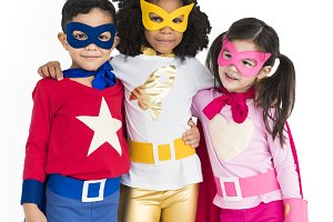 Superhero Adolescence Child Kid(PNG)