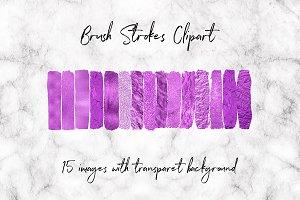 Purple Glitter And Foil Graphics