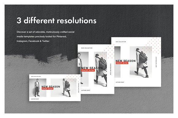 cheap for discount a2d95 26652 Hype Monger Social Media Pack ~ Instagram Templates ~ Creative Market