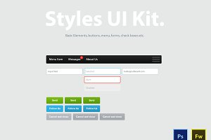Style UI kit - User Interface pack
