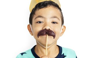 Little Boy Moustache Crown (PNG)