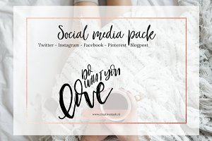 Autumn social media pack