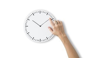 Time Punctual Clock (PNG)