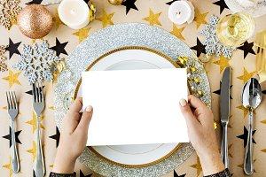 Dinner Celebration Decorations (PNG)