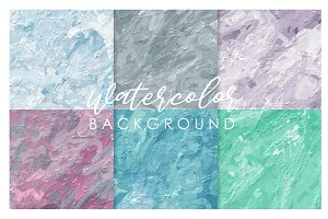 Sweet watercolor background2#