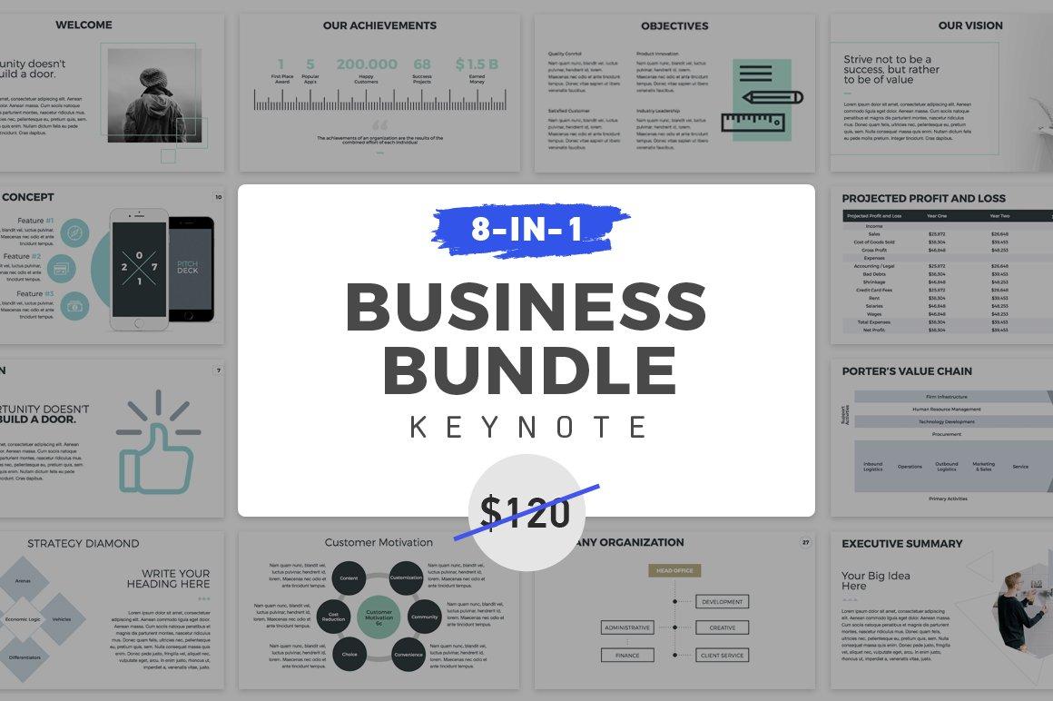 Business Strategy PowerPoint ~ Presentation Templates ~ Creative Market